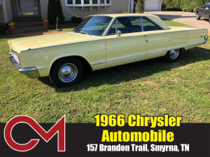 PERSONAL PROPERTY: 1966 Chrysler Automobile