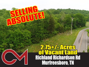 REAL ESTATE: 0 Richland Richardson Rd, Murfreesboro, TN