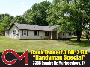 REAL ESTATE: 3355 Esquire Dr, Murfreesboro, TN
