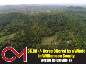 REAL ESTATE: York Rd, Nolensville, TN