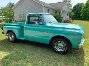 CLASSIC CAR AUCTION: Restored 1967 Chevy C10 Truck