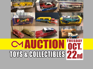 PERSONAL PROPERTY: Toys & Collectibles - Warehouse Auction