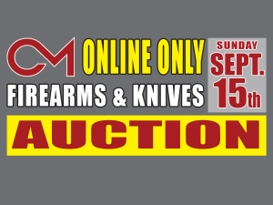 PERSONAL PROPERTY: Firearms & Knives Auction