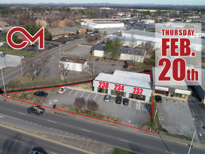 REAL ESTATE: 232, 234, 238 W. Northfield Blvd, Murfreesboro, TN