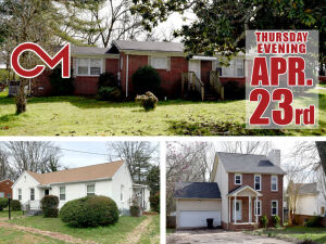 REAL ESTATE: 3 Homes For Sale in Murfreesboro - 819 E. Bell St, 105 Arnold Rd, 1127 SE Broad St
