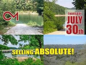 REAL ESTATE: Center Hill Lake Lots - SELLING ABSOLUTE!