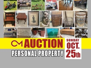 PERSONAL PROPERTY: Multi-Estate Auction ends Oct 25th