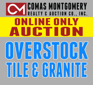 Personal Property - Tile and Marble Auction