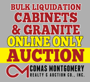 Cabinet and Granite Auction