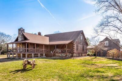 REAL ESTATE: 4 BR Log Home and 15+/- Acres - 3493 Shores Rd, Murfreesboro, TN