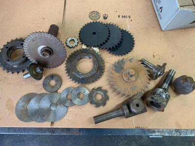 Assortment of Slitters and Sprockets