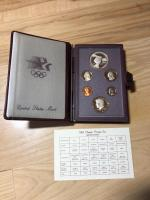 United States Mint Olympic Prestige Set 1983