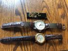 SEIKO and SWISS ARMY Wrist Watches w / Decorative Lighter