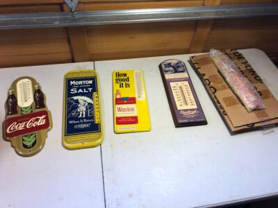 Assortment of Vintage Thermometers