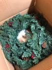 FRONTGATE Artificial Christmas 30in Classic Wreath