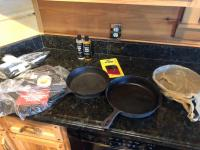 Cast Iron Cookware w/ Accessories
