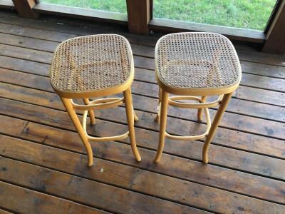 Wooden Stools (2)- 30in