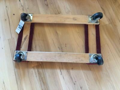 Wooden Floor Dolly