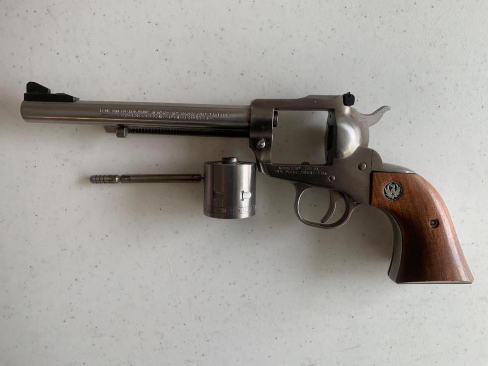 Ruger .22 Cal New Model Single