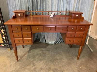 Southern Colonial Solid Wild Cherry Wooden Desk