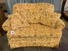 Floral Love Seat with Twin Hideaway Bed