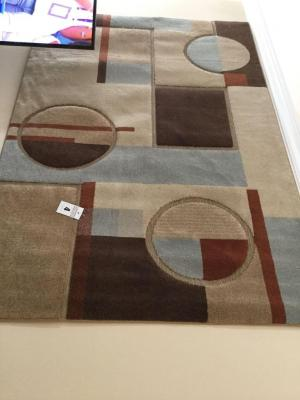 Area rug (always been used as wall décor)  - Buyer bring help to remove