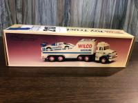 1989 WILCO Toy Truck and Racer w/ Real head and Tail Lights