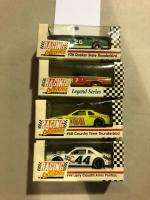 RACING COLLECTIBLES- #26 Quaker State Thunderbird, Legend Series, #68 Country Time Thunderbird, and #44 Larry Caudill/ Army Pontiac - Dealer Promotional
