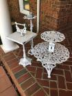 Variety of Decorative Metal Stands (3)
