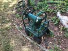 Metal Garden Hose Reel Cart