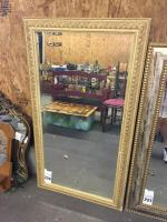 "Large Framed Mirror - 29.5""W x 54""T"