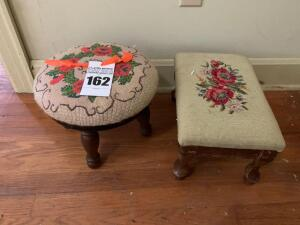 2 Small Step Stools
