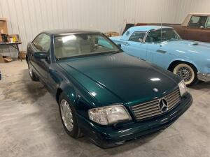 NOW SELLING ABSOLUTE! 1997 Mercedes-Benz SL500 - VIN: WDBFA67F3VF141474 - Odometer reads 42,448 miles