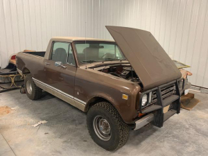 NOW SELLING ABSOLUTE! 1978 International Scout II Terra - Odometer Reads 19,721 miles - VIN: H0092HGD15244
