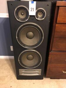 Pair of Technics SB-A71 Floor Speakers - 12 inches L x 17 inches W x 43 inches H