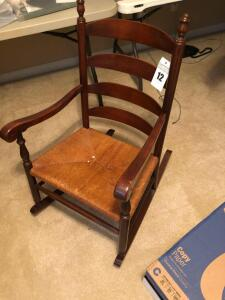 Wooden Rocking Chair- 36in. T