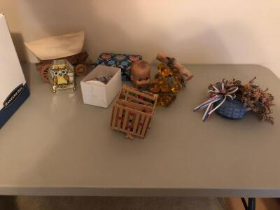 Assortment of Knick Knacks and Decorative Items