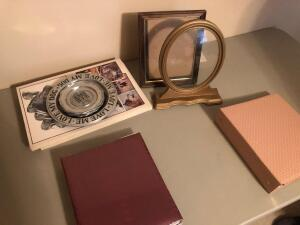 Misc. Items- Photo Albums, Picture Frames, Doug Lindstrand's Alaskan Sketchbook, Etc.