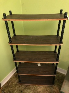 5 Tier Particle Board Shelf- 60in. T x 32in. W x 12in. D