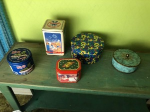 Variety of Tin Canisters