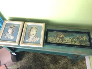 Variety of Framed Art