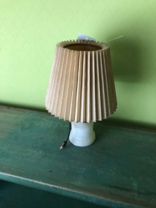 Hobnail Lamp- 15in. T