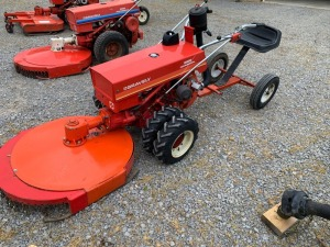 Gravely 5665 Commercial 2-Wheel Convertible Tractor with 30in. Rotary Mower (selling subject to seller confirmation)