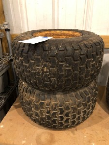 (2) Kenda Turf Rider Tires with Wheels - 18x8.50-8