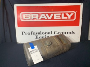 Gravely Fuel Tank Assembly - Model No. 10636