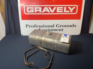 Gravely Fuel Tank Assembly (Model No. 10636) & Straps (10640)