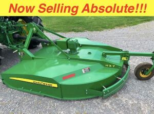 Now Selling Absolute! John Deere HX7 7 Ft Rotary Cutter
