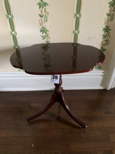 The Bombay Company pedestal side table