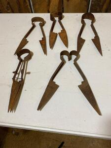 Assortment of Vintage Shears