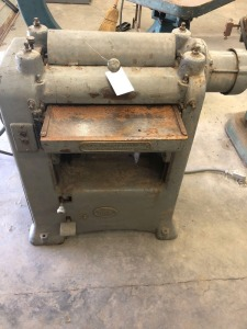 Yates-American Machine Co. 3 Phase Planer (Buyer Responsible For Removal) - 42in. T